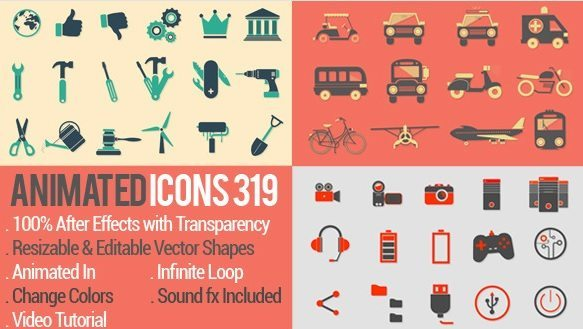 Animated icons 319