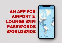 App For Airport & Lounge WiFi Passwords