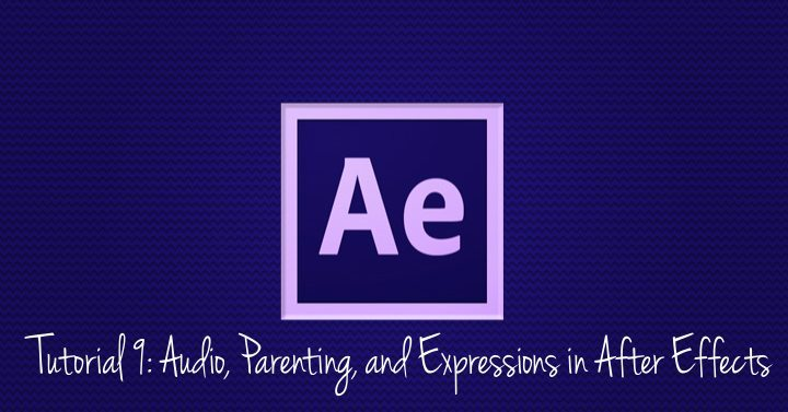 Audio, Parenting, and Expressions in After Effects
