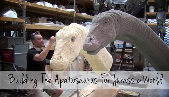 Building The Apatosaurus For Jurassic World