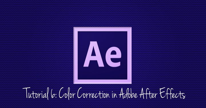 Color Correction in Adobe After Effects
