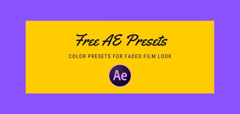 Free After Effects presets