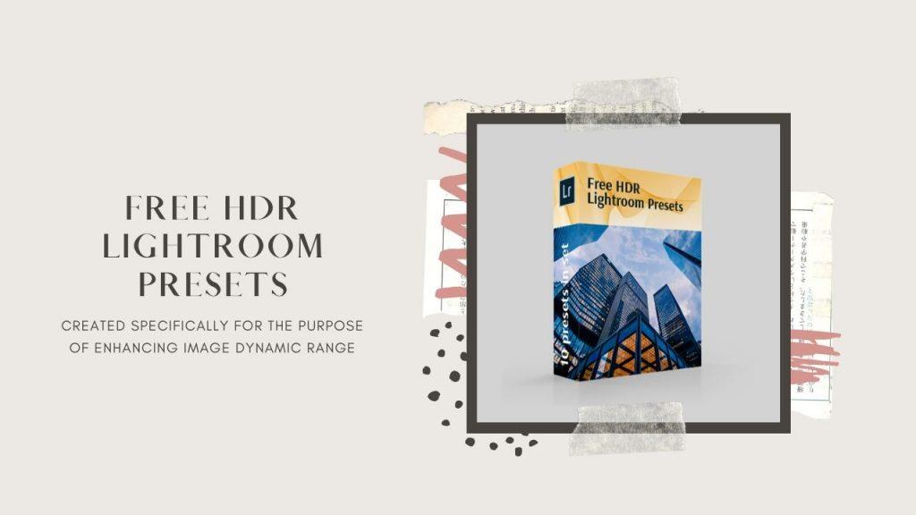 free HDR lightroom presets