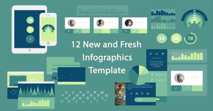 Infographics Template cover