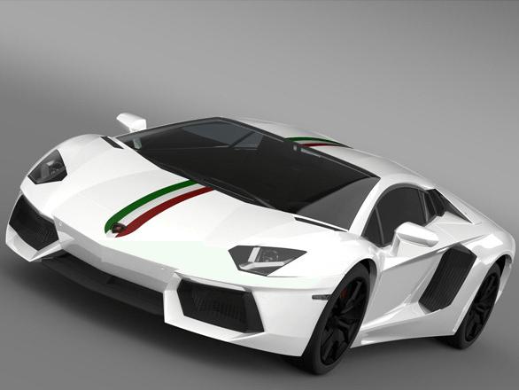 Lamborghini Aventador Nazional