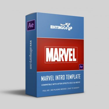 Marvel After Effects Template