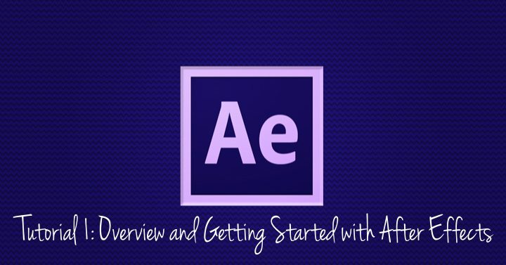 Overview and Getting Started with After Effects