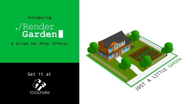 render garden after effects plugin