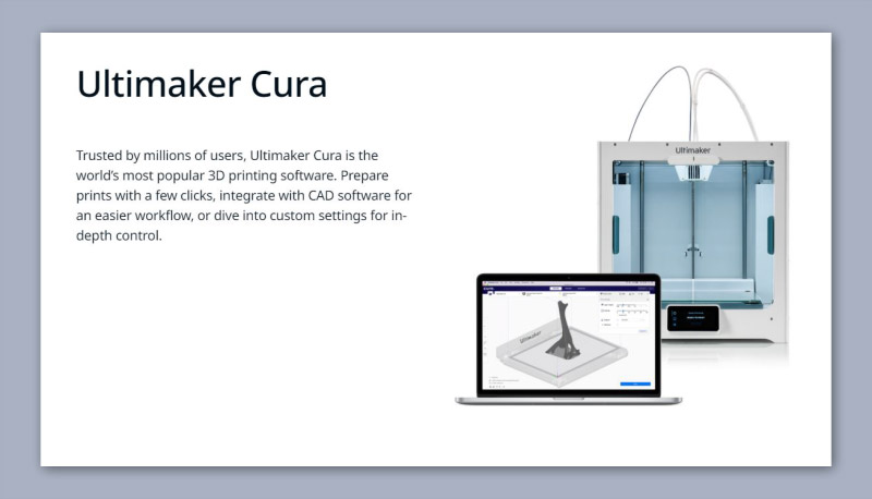 Ultimaker Cura 3D Printing Software