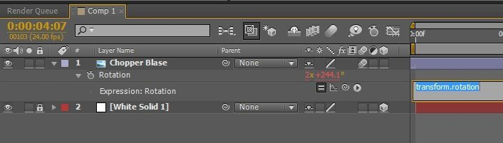 after effects expression rotation