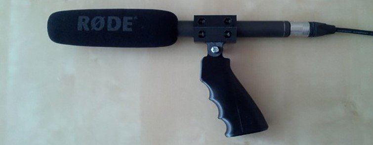 Audio Pistol Grip