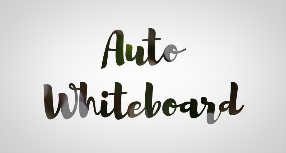 Auto Whiteboard After Effects Scripts