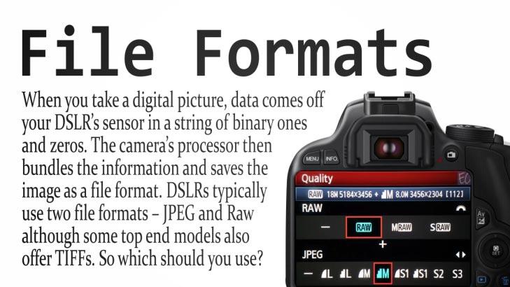DSLR File Format
