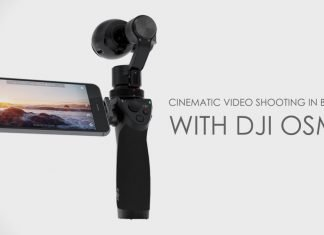 cinematic videos with DJI OSMO
