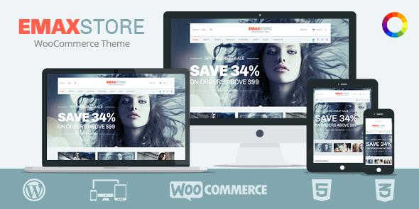 WordPress eCommerce Theme emaxstore
