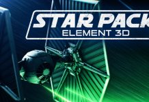 element 3d star wars