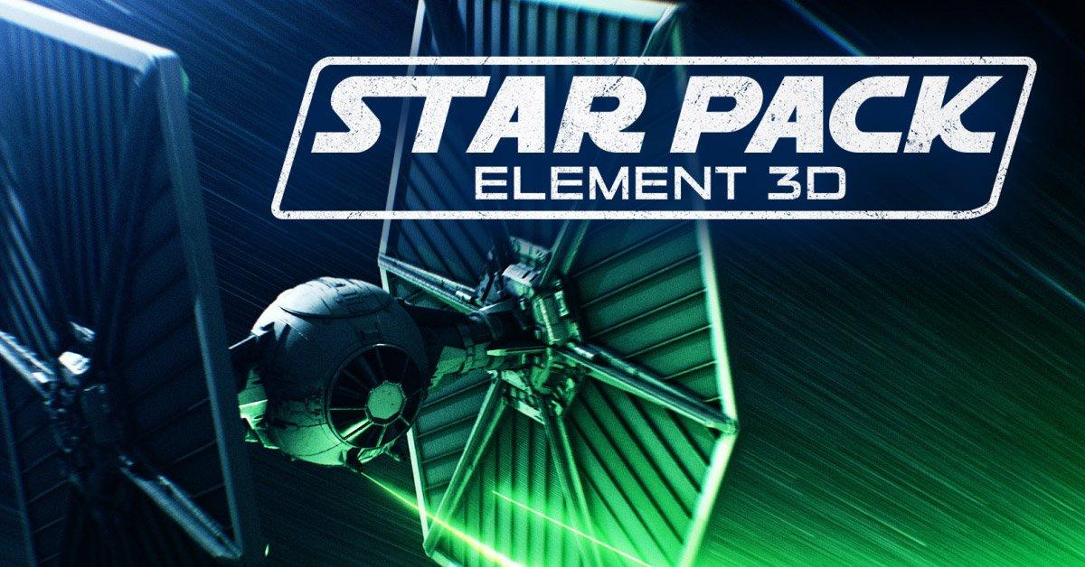 element 3d star wars