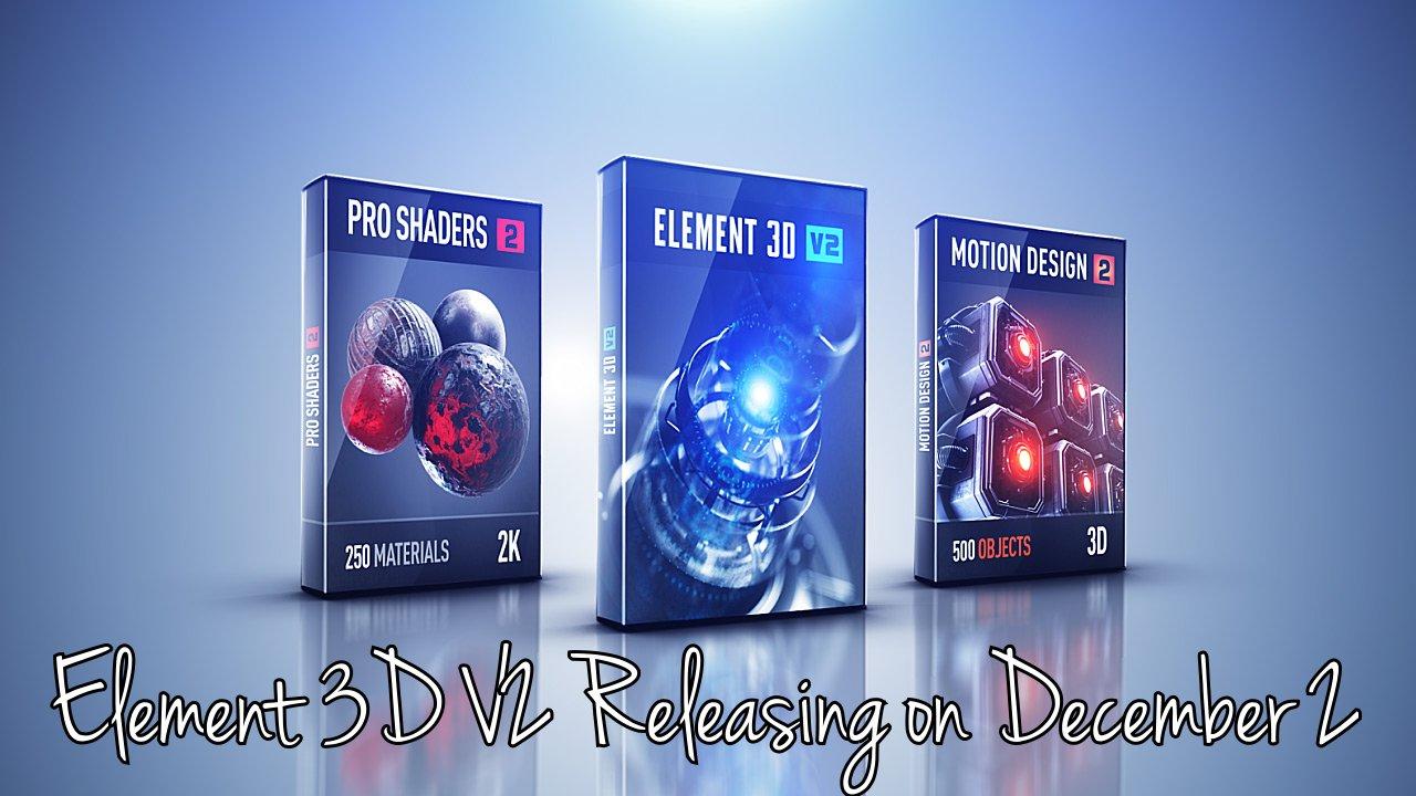 element 3d v2 releasing december 2