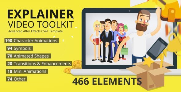 promotional videos after effects template
