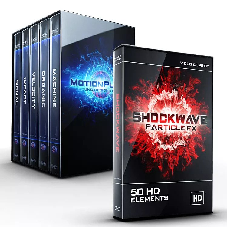 Video Copilot MotionPulse BlackBox & Shockwave Bundle