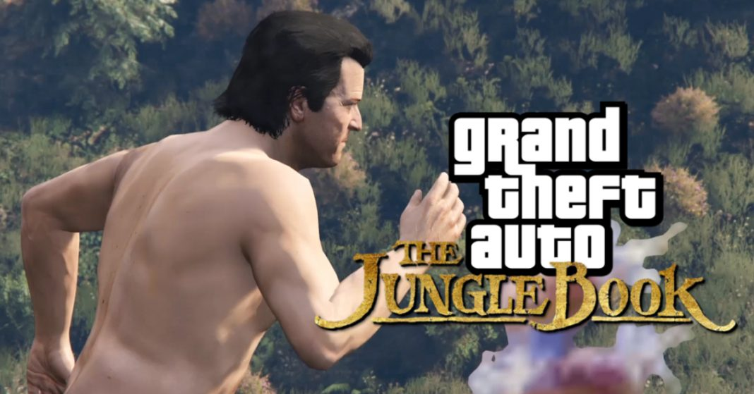 gta 5 the jungle book
