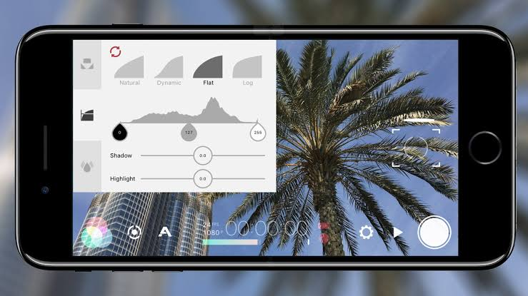 Filmic pro app for cinematic travel videos