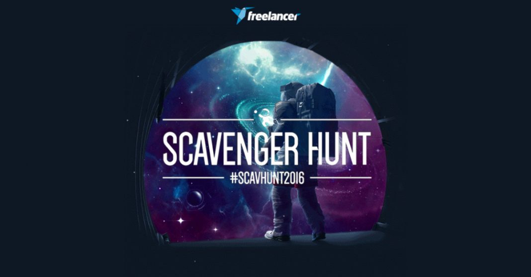 freelancer scavenger hunt 2016