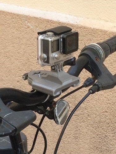 Go pro bike mount