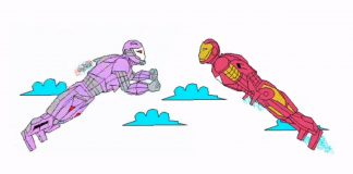 iron man animation