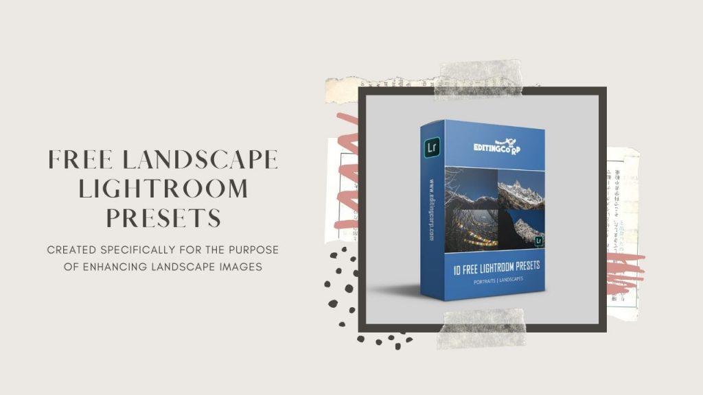 free lightroom presets landscape