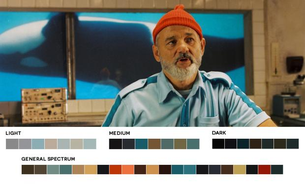 Color Palettes of life-aquatic