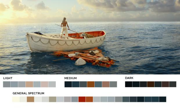 Color Palettes of life-pi