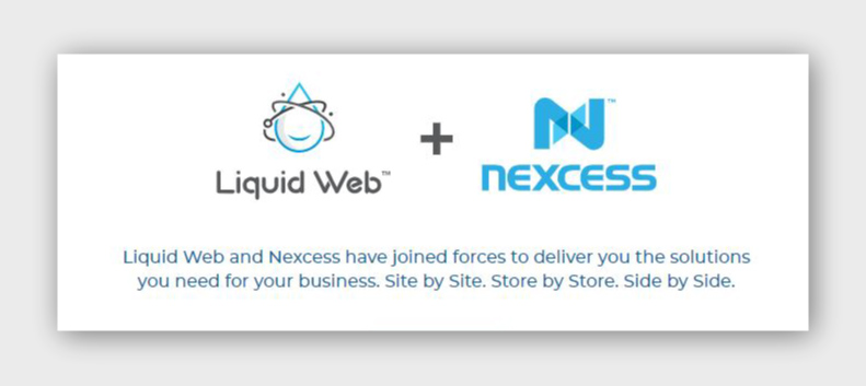 liquid web and nexcess