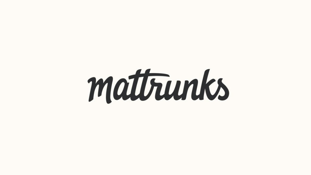 mattrunks After Effects Tutorial