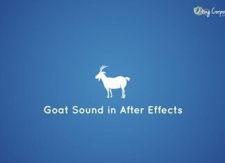 Hear the Goat Sound in After Effects