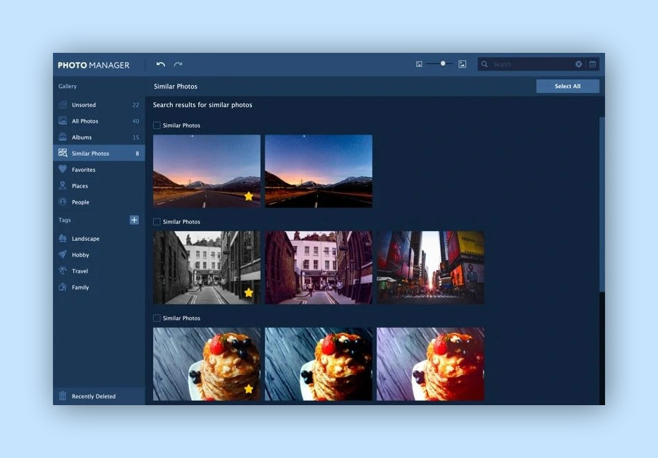 movavi - photo management software