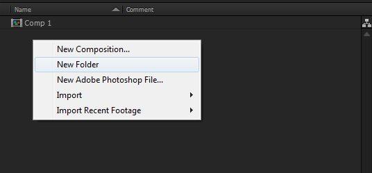 organize project folder