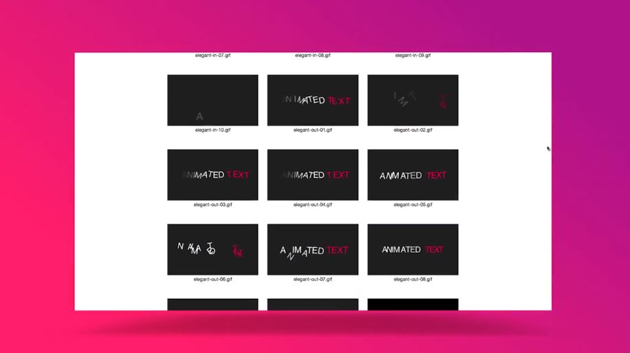 Preview Generator After Effects Scripts