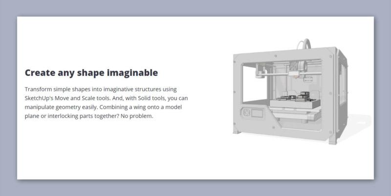 Sketchup 3D Printing Software