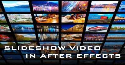 slideshow video after effect cover