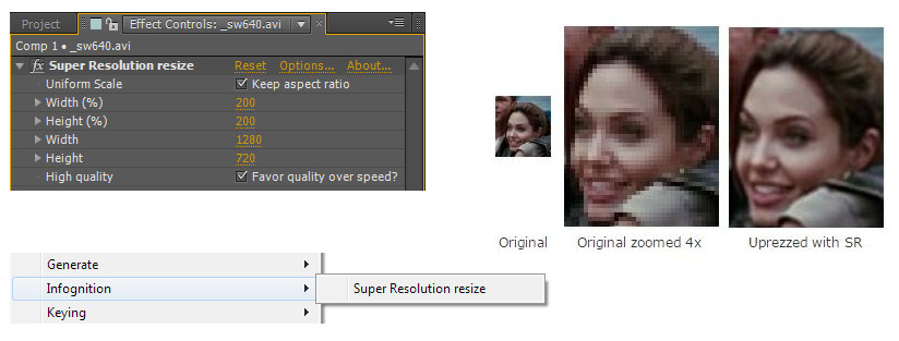 super resolution after effects