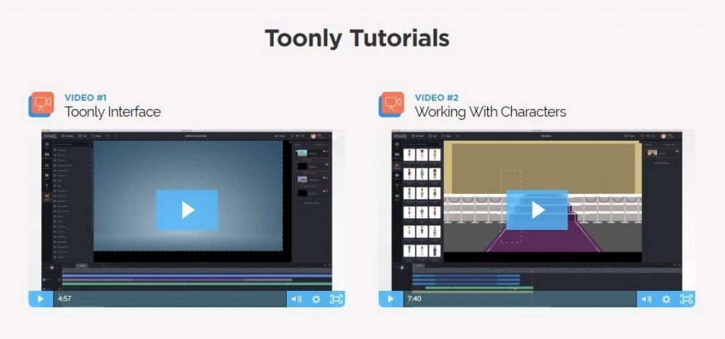 toonly tutorials