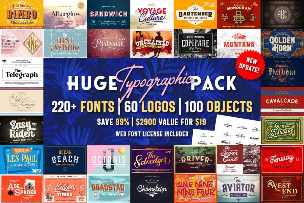 Huge Typography Pack