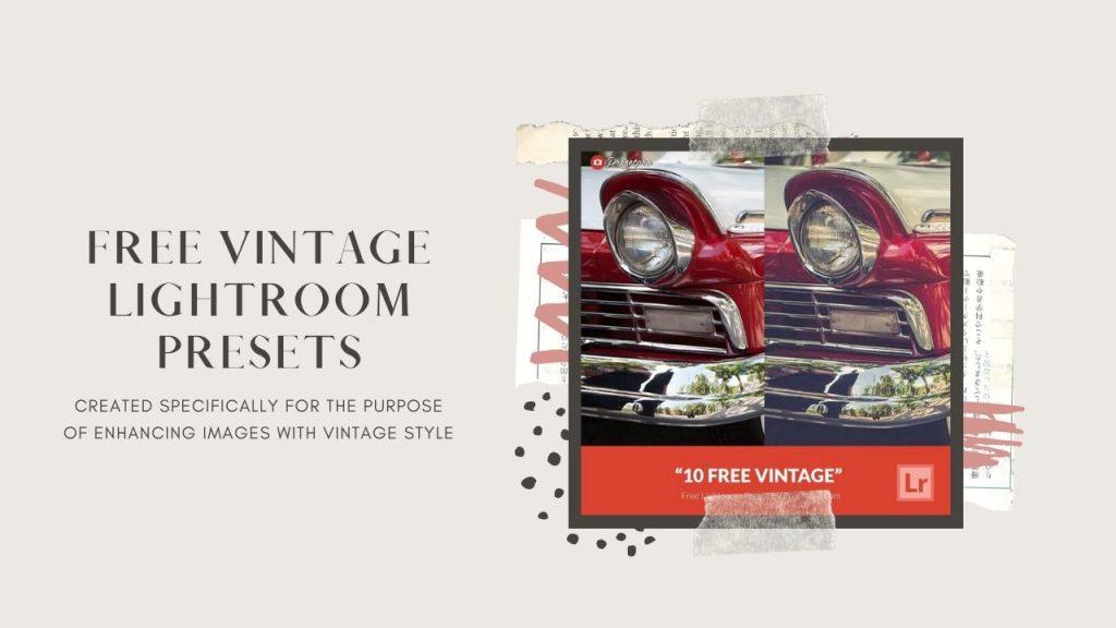 vintage lightroom presets