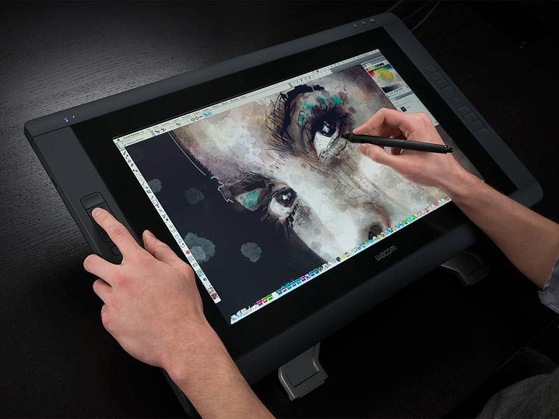 Wacom Pen and Display Graphics Tablet