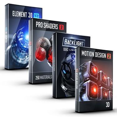 Video Copilot Motion Design Bundle - 50% off black Friday sale